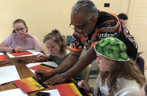 Aboriginal art School camp
